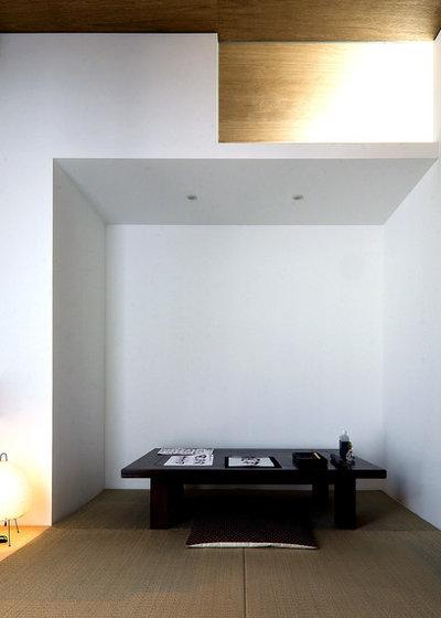 モダン ホームオフィス・仕事部屋 by 山本卓郎建築設計事務所 TAKURO YAMAMOTO ARCHITECTS