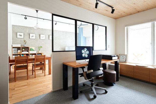 インダストリアル ホームオフィス・仕事部屋 by ツバメクリエイツ株式会社