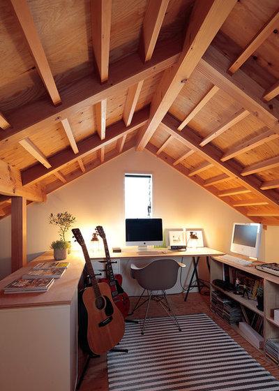 カントリー ホームオフィス・書斎 by こぢこぢ一級建築士事務所