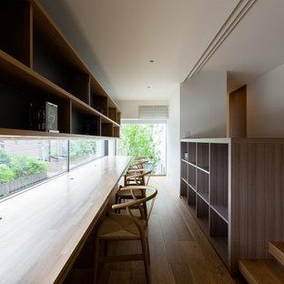 名古屋のコンテンポラリースタイルのおしゃれなホームオフィス・書斎の写真