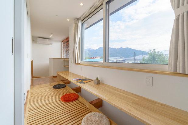 アジアン ホームオフィス・書斎 by ima建築設計室