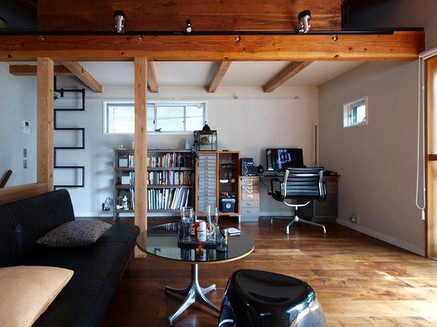 ミッドセンチュリー ホームオフィス・仕事部屋 by 志田茂建築設計事務所