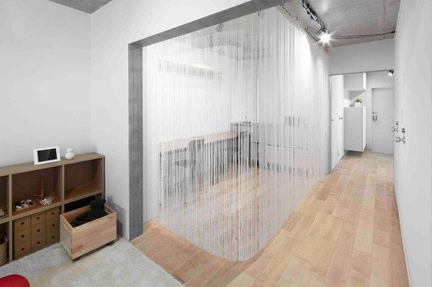 コンテンポラリー 書斎・ホームオフィス by rico turu architects studio