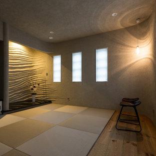 他の地域の和風のおしゃれなホームオフィス・書斎 (畳) の写真