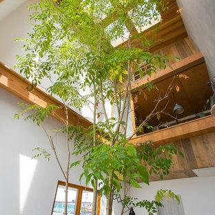 名古屋のミッドセンチュリースタイルのおしゃれなホームオフィス・書斎の写真