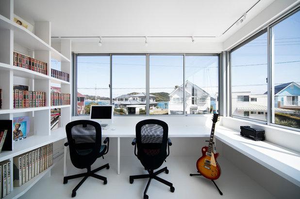 モダン ホームオフィス・書斎 by Hari Architects 開建築設計事務所
