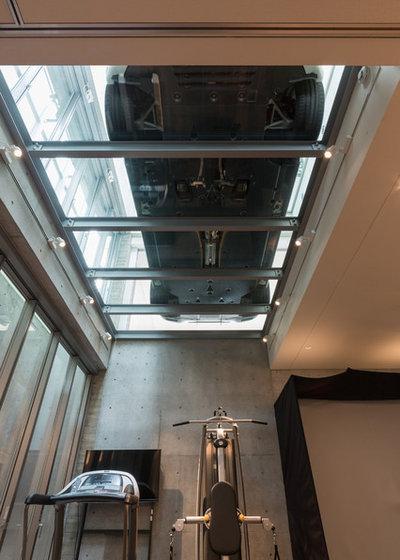 コンテンポラリー ホームジム by 株式会社 藤吉秀樹建築計画事務所|Fujiyoshi Hideki Architec't Inc.