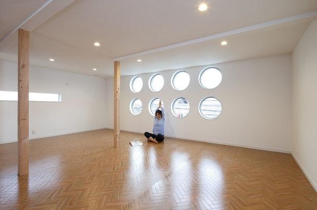 モダン ホームジム by 榊原デザイン一級建築士事務所