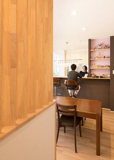 モダン ホームバー by KEIJI 一級建築士事務所