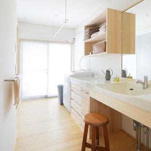 Источник вдохновения для домашнего уюта: прачечная в восточном стиле