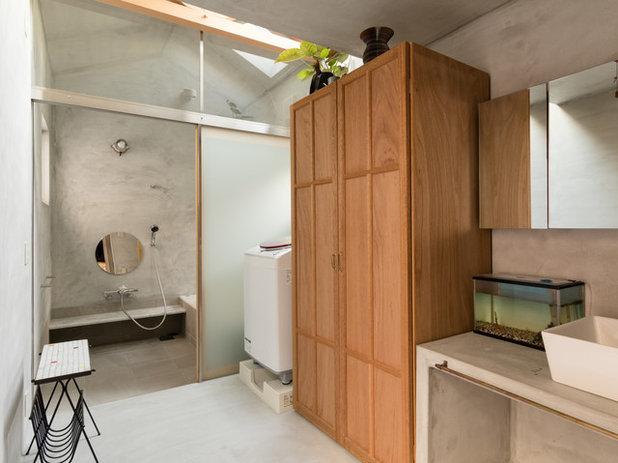 コンテンポラリー ランドリールーム by 間工作舎/一級建築士事務所