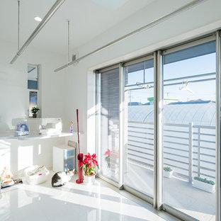 熟練した匠が魅せる、のびやかな住空間。日々の暮らしを支える家事スペースも充実