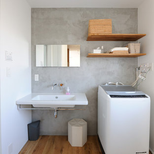 Example of a laundry room design in Other