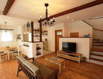 「こんな家に住みたい」casa carinaモデルハウス