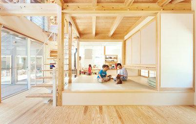 ほっと落ち着く畳コーナー。小上がり和室のある11の住まい