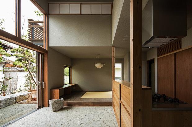 アジアン リビング by Garden design office萬葉