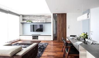 オーダーキッチンとインテリアのコラボレーション空間