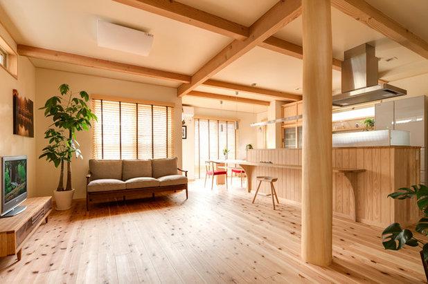 リビング by こばじゅう 自然素材100%で家をつくる横浜の工務店