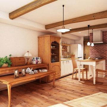 カフェSTYLE:アンティーク家具と暮らす