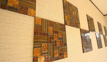 ガラスモザイクタイル 壁用 ステンドモザイク イエロー (PTMH-2)
