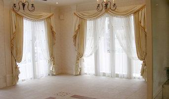 クラシックスタイルなカーテン施工例