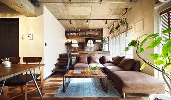 『コンクリート剥き出し』に自然素材をデザインする 大人ヴィンテージの温もりある癒しのリフォーム(マンション/apartment)