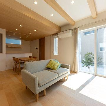 シンプルで美しいナチュラルスタイルの家