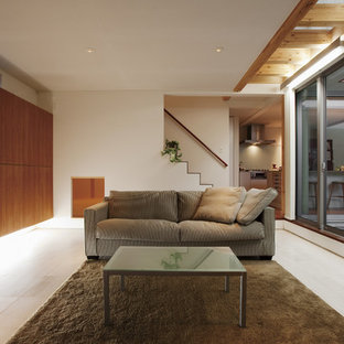 75 most popular asian brown living room design ideas for 2018