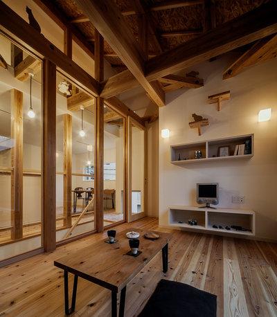 リビング・居間 by 斉藤建築設計室