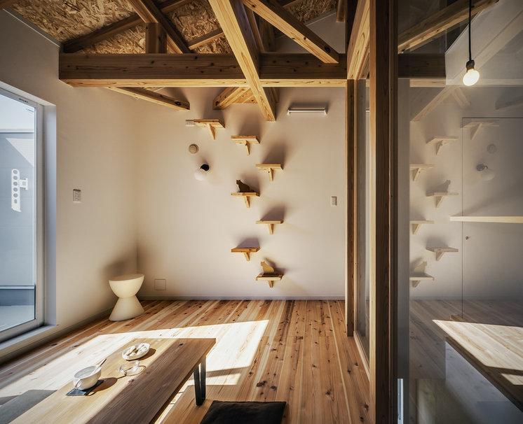 Living Room by 斉藤建築設計室
