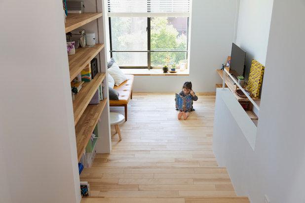 エクレクティック リビング by アトリエハコ建築設計事務所