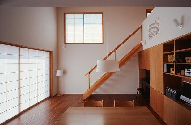 和室・和風 リビング by 有田佳生建築設計事務所