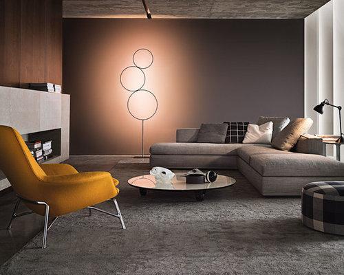 Salon moderne avec moquette photos et id es d co de salons for Moquette moderne