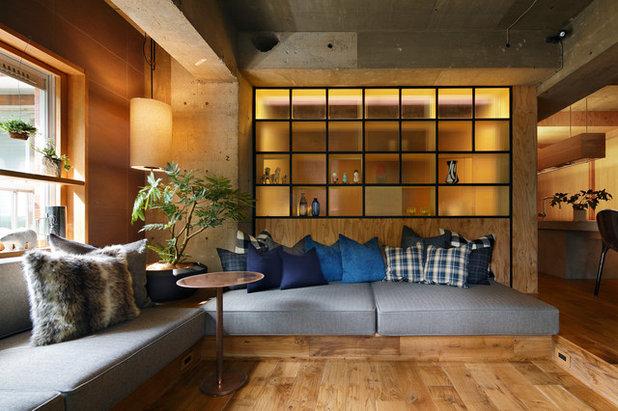 アジアン リビング by shushi architects inc.