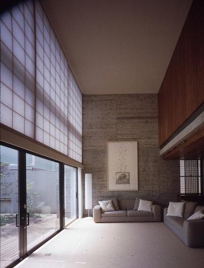 アジアン リビング by KEN YOKOGAWA ARCHITECT & ASSOCIATES INC.