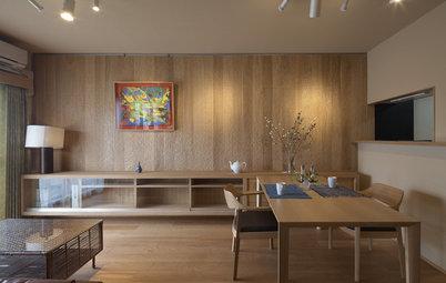 Houzzツアー:自宅マンションの上階の1室を、自分専用の非日常空間にリフォーム