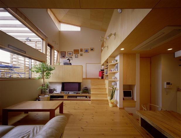 北欧 リビング by ギルド・デザイン一級建築士事務所
