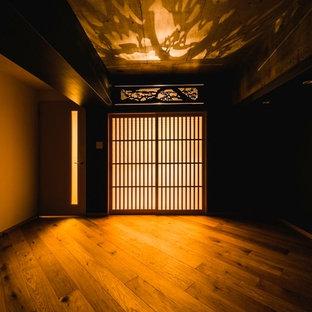 東京23区の和風のおしゃれなリビングの写真