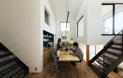 In Giappone: Una Planimetria per Aumentare il Dialogo in Famiglia