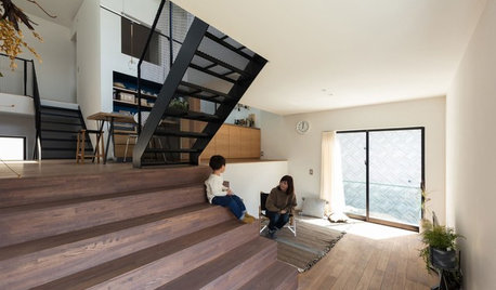 Osaka Houzz Tour: Criss-Cross Design Brings a Family Together