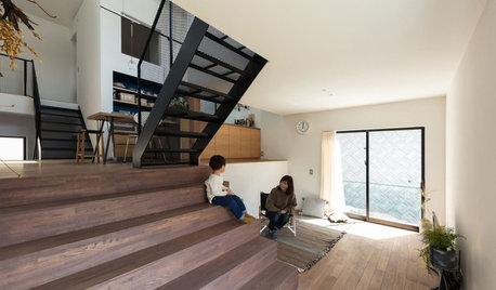 家の中の「四つ角」が家族をゆるやかにつなぐ住まい