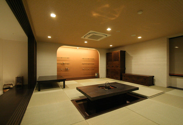 和室・和風 リビング by 三浦喜世建築設計事務所