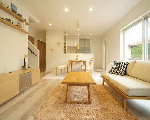 30 Best Scandinavian Plywood Floor Living Room Ideas & Remodeling ...