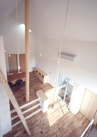 リビング・居間 by STUDIO RAKKORA ARCHITECTS