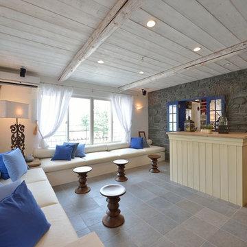 『地中海の白い家』 大田区 N邸