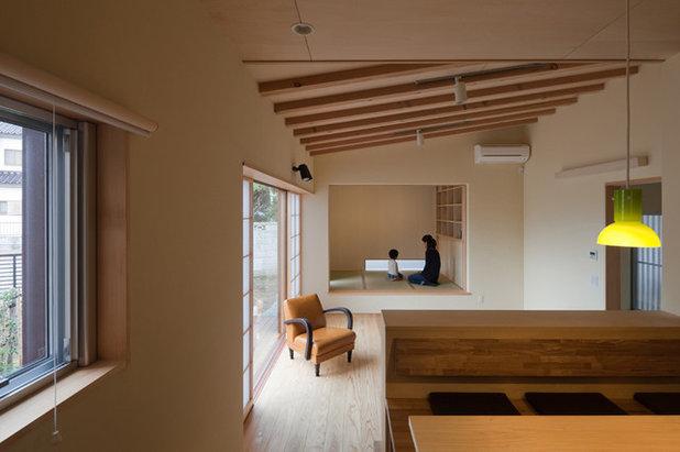 和室・和風 リビング by 相川 佐藤 建築設計事務所