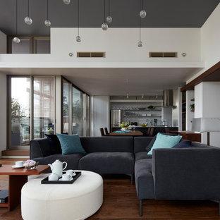 75 most popular contemporary tokyo living room design ideas for 2018