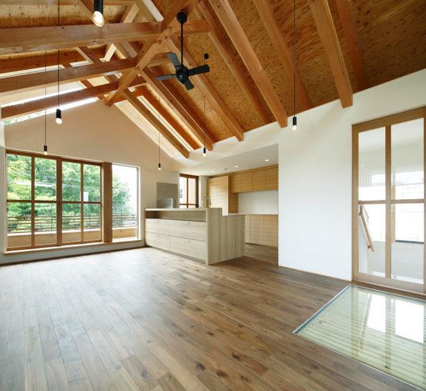 リビング by TSC Architects