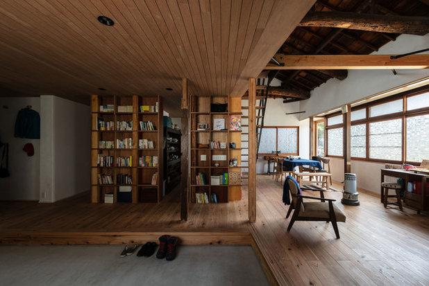 和室・和風 リビング by エイチ・アンド一級建築士事務所