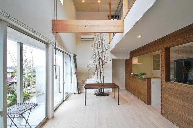 北欧 リビング by Switch Architects スイッチ建築設計事務所